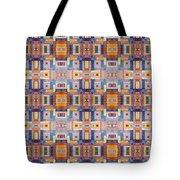Fabric Art Tote Bag