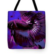 Fabulous Fins Tote Bag by George Pedro