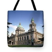 Facade Of A Government Building Tote Bag