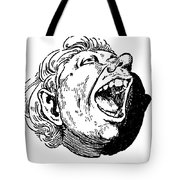 Face, 19th Century Tote Bag