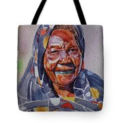 Face 23 Tote Bag
