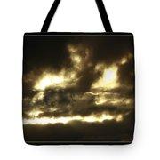 Face In Sky Tote Bag