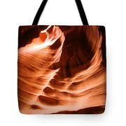 Face In The Canyon Tote Bag