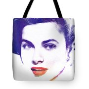 Face Of Beauty Tote Bag