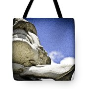 Face Of Courage Tote Bag