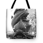 Face Of The Thames Tote Bag