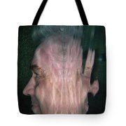Face Reflected Underwater Tote Bag