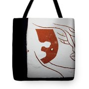 Faces - Tile Tote Bag