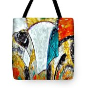 Faces Come Out Of The Rain ... Tote Bag