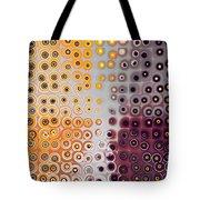 Facets And Circles Tote Bag