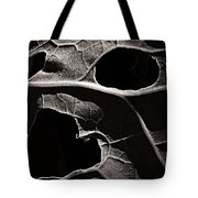 Facial Foliage Tote Bag