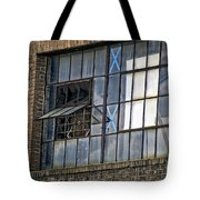 Factory Air In New Orleans Tote Bag