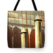 Factory Silence Tote Bag