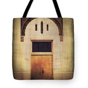 Faded Doorway Tote Bag