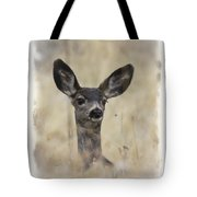 Faded Fawn Tote Bag