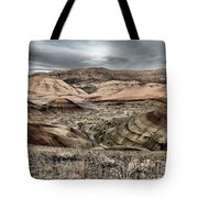 Faded Painted Hills Tote Bag