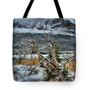 Fading Colors Tote Bag