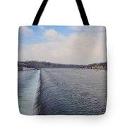 Fairmount Dam And Boathouse Row - Philadelphia Tote Bag