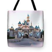 Fairytale Castle Tote Bag