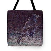 Faithful Raven Tote Bag
