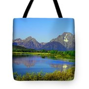 Fall At Oxbow Bend Tote Bag