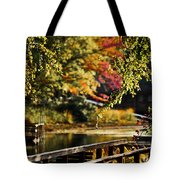 Fall At Tyler State Park Tote Bag