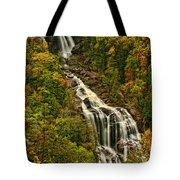 Fall At Whitewater Falls  Tote Bag