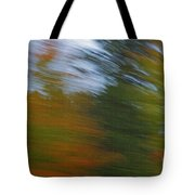 Fall Blur Tote Bag