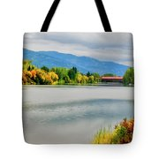 Fall Color At Sand Creek Tote Bag