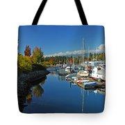 Fall Colors At English Bay Tote Bag
