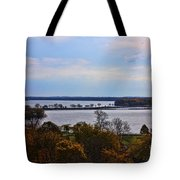 Fall Colors In Madison Tote Bag