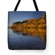 Fall Colours In The Squaw Bay II Tote Bag