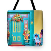 Fall Decorations Tote Bag