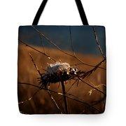 Fall Flower Tote Bag
