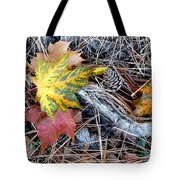 Fall Forest Floor Tote Bag