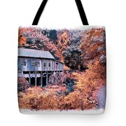 Fall Grist Mill Tote Bag
