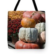 Fall Harvest Colorful Gourds 7968 Tote Bag