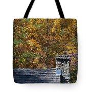 Fall House In Carolina Tote Bag