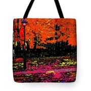 Fall In Red Tote Bag