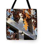 Fall In The City 3 Tote Bag