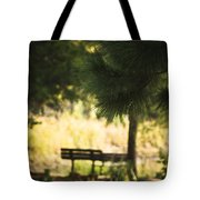 Fall In The Pines Tote Bag