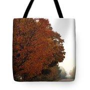 Fall Laneway Tote Bag