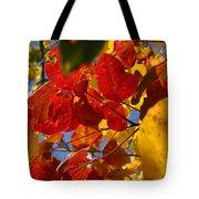 Fall Leaves Flp Tote Bag