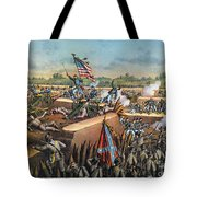 Fall Of Petersburg, 1865 Tote Bag
