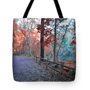 Fall On Forbidden Drive Tote Bag