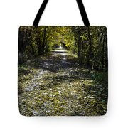 Fall On Macomb Orchard Trail Tote Bag