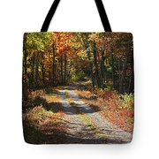 Fall On The Wyrick Trail Tote Bag
