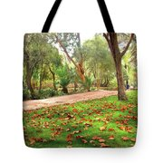 Fall Park Tote Bag
