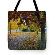 Fall Park Tote Bag