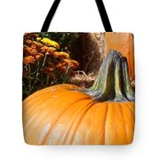 Fall Pumpkin Tote Bag by Kimberly Perry